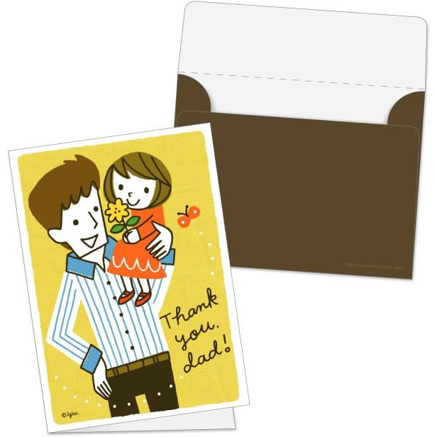 お父さんいつもありがとう✨素敵なメッセージセットを贈っちゃいましょう!✨➡️https://goo.gl/aMf1dD #父の日カード #グリーティングカード #メッセージカード #父の日 #イラスト #ミニカードセット