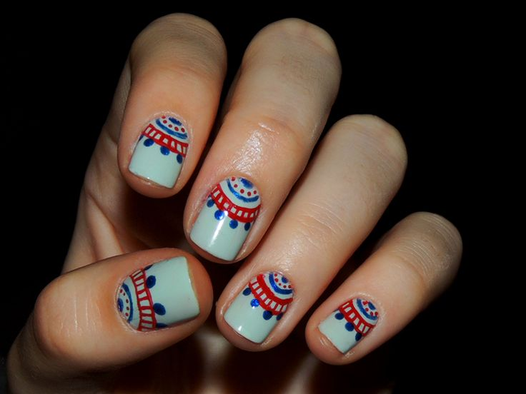 Love this nail art! If only I could actually do it!