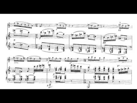Olivier Messiaen - Theme and Variations for Violin and Piano (1932) [Score-Video] - YouTube