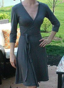 Links to DIY wrap dresses and how to make a basic pattern based on your measurements. I love wrap dresses, so this is awesome.