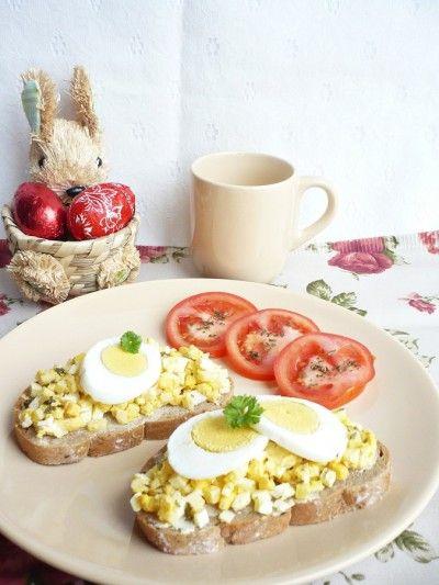 Sajtos-tojásos szendvics