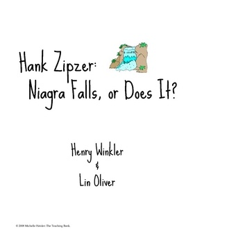 Hank Zipzer: Niagara Falls or Does It? Unit Novel Study