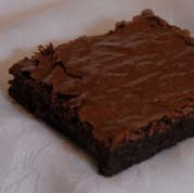 Our Fudge Brownie. Chocolate upon chocolate. Rich, satisfying and proven to put a smile on your face.