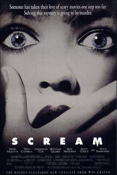 Scream (Wes Craven - 1997). Vu le 18 juillet 1997.