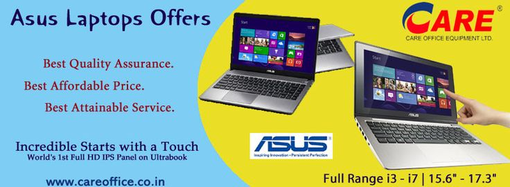 ASUS and YOU.... INCREDIBLE TOGETHER whatever makes up your life, make it Incredible   Just Visit Us - http://www.careoffice.co.in/computers/laptops-computer/asus-laptop