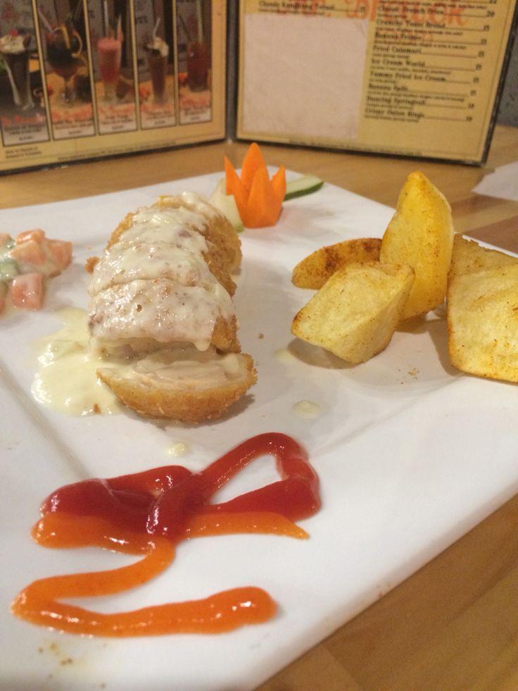 Chicken gordon blue #lunch #dinner
