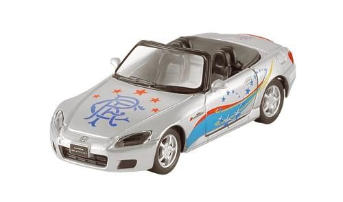 RANGERS FC: Glasgow Rangers FC Auto Honda S2000 Cabrio - grijs (Maisto)