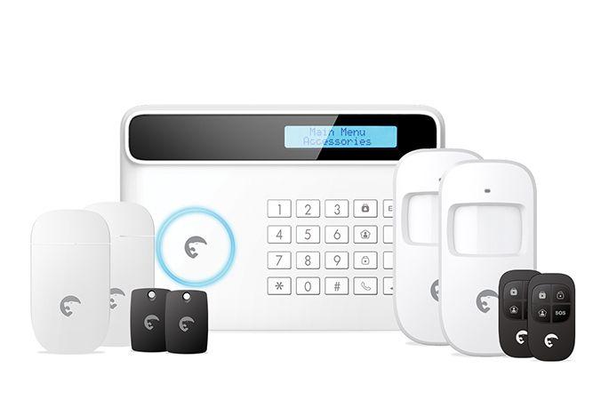 Alarme sans fil GSM / Ligne fixe S4 Combo Secual