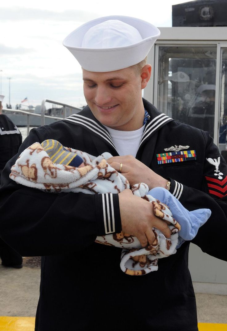 Pin if if you think a Sailor meeting his newborn for the first time is as important as a #royalbaby -