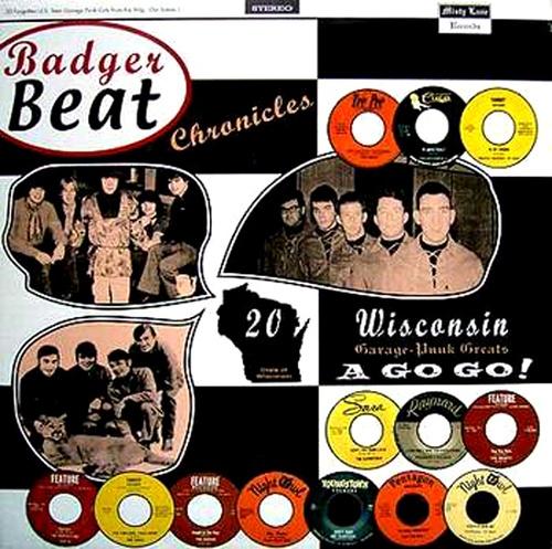"V/A ""BADGER BEAT CHRONICLES""  18 Wisconsin Garage greats  LP 180 gr. ltd/ed."