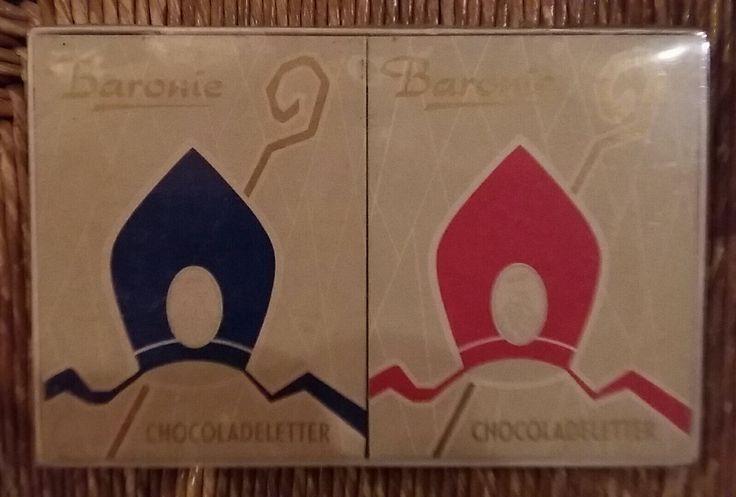 BARONIE chocoladeletter, museum indezevendehemel te Apeldoorn