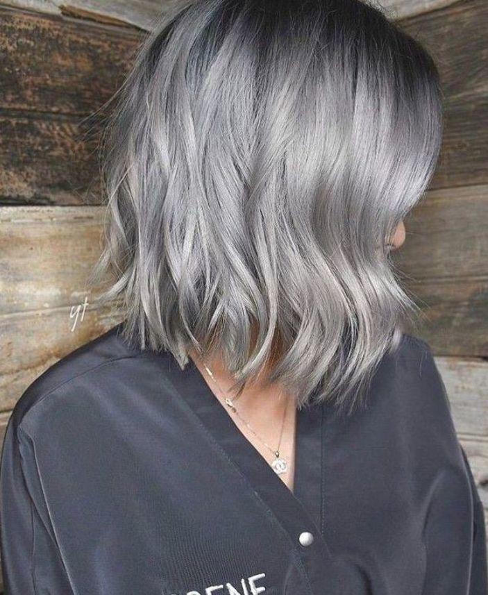 Medium Hair Color Ideas Shoulder Length Hairstyle For Female In 2019 In 2020 Medium Hair Color Creative Hair Color Medium Length Hair Styles