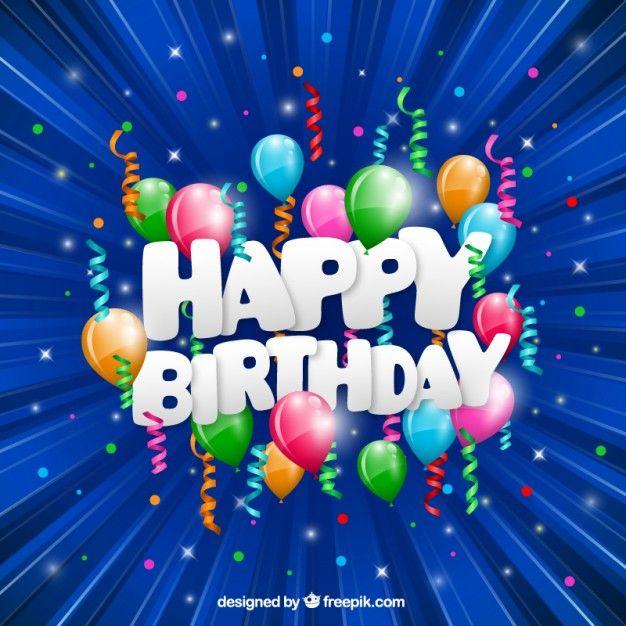 Cartão de feliz aniversário engraçado Vetor grátis                                                                                                                                                                                 Mais