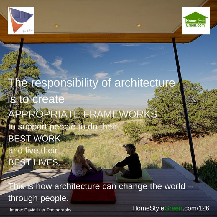 What's the Responsibility of Architecture
