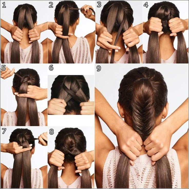How to Make Classy Fishtail Braid Hairstyle tutorial and instruction. Follow us: www.facebook.com/fabartdiy