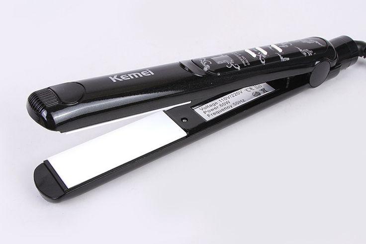 Z040 2 em 1 alisador de cabelo ferros pranchas de cabelo ferramentas de estilo profissional ionic flat Irons alisamento ferros alishoppbrasil