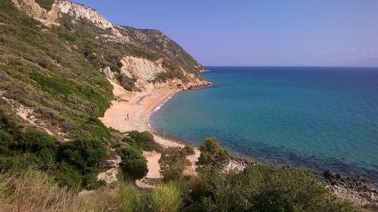 Koroni Beach, my fav on #Kefalonia island, #Greece
