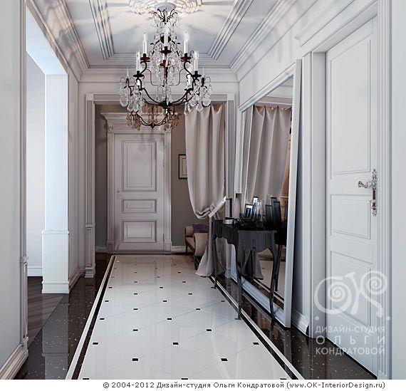 Pin By O Kondratovos Dizaino Studija On Hallway And: дизайн интерьера в современном классическом стиле в
