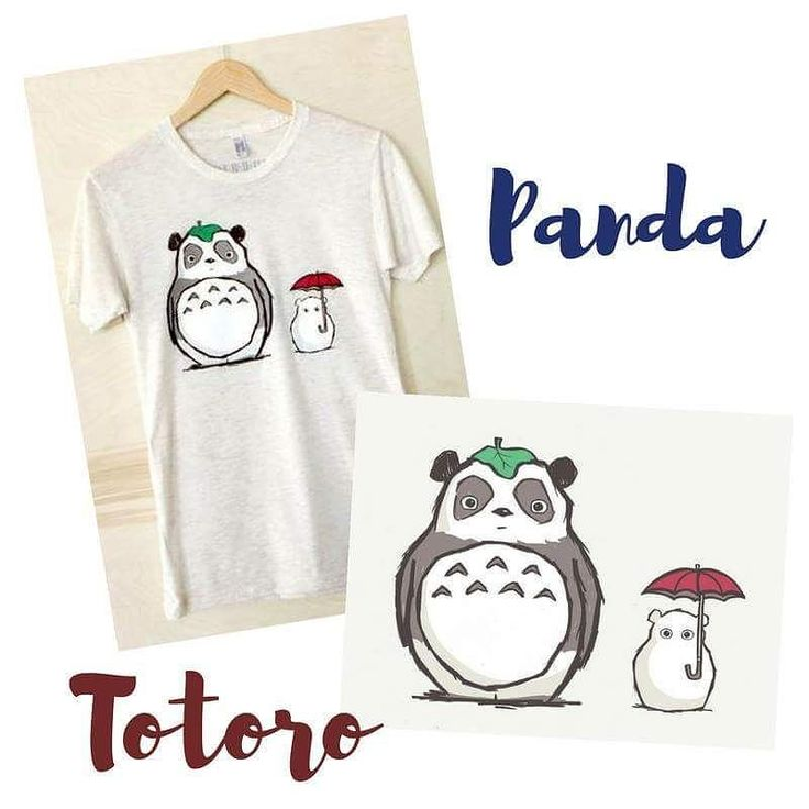 Steppie Totoro Panda Unisex T Shirt Athletic shirts