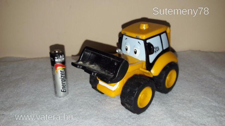 BS Játék - 2009 JCB műanyag munkagép - 400 Ft - Nézd meg Te is Vaterán - Munkagép - http://www.vatera.hu/item/view/?cod=2501445260