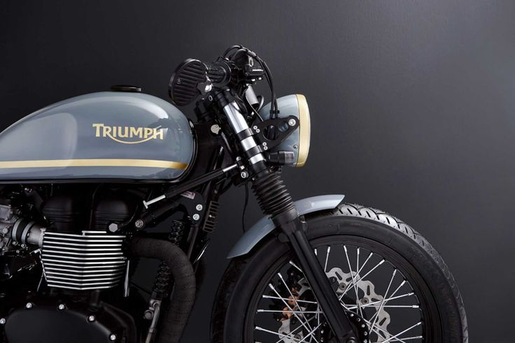 10 Frames Of A Custom Triumph Bonneville That Will Blow You Away. Bunker Custom Cycles are masters at the game.