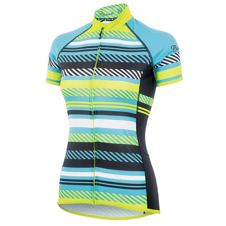 Women's Canari Copula Cycling Jersey, Size: Medium, Yellow