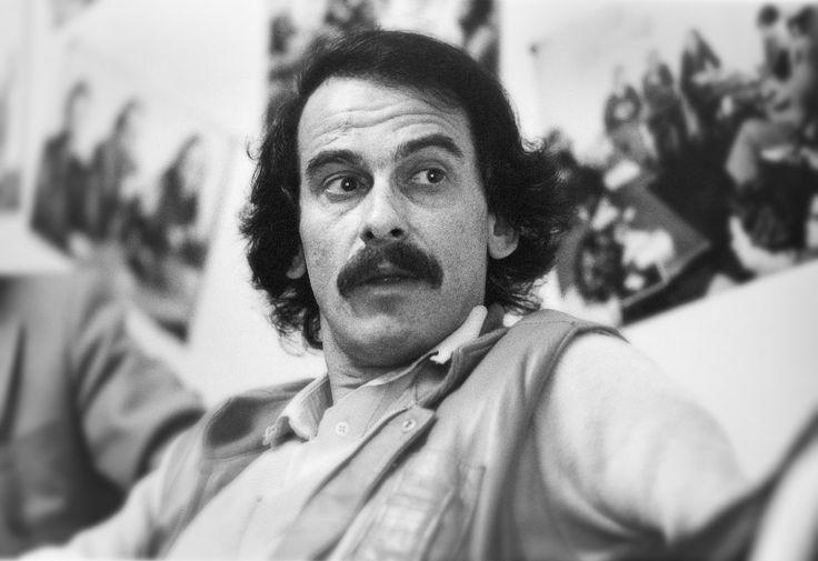 Michel Fugain, chanteur, 1982, France. © Franck Pédersol.