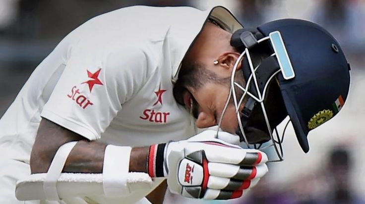 India's Shikhar Dhawan was Monday ruled out of the third and final Test against New Zealand with a broken thumb after the hosts took an unassailable 2-0 lead in the series in Kolkata.