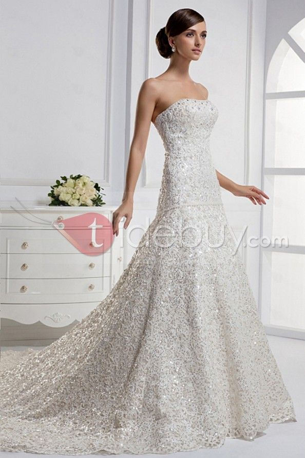 Strapless all over lace gown with a sweetheart neckline and soft stretch lining ball gown : Strapless All Over Lace Gown With A Sweetheart Neckline And Soft Stretch Lining Ball Gown