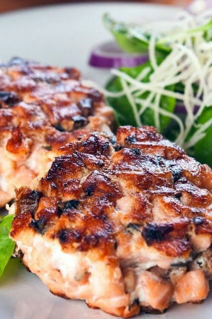 Southern Fried Salmon Patties ~ These are very moist when done