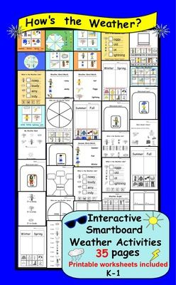 Interactive+Smartboard+Weather+Activities+with+Printables+suitable+for+K-1+from+Teaching+The+Smart+Way+on+TeachersNotebook.com+-++(35+pages)++-+Interactive+Smartboard+Weather+Activities+with+Printables+suitable+for+K-1