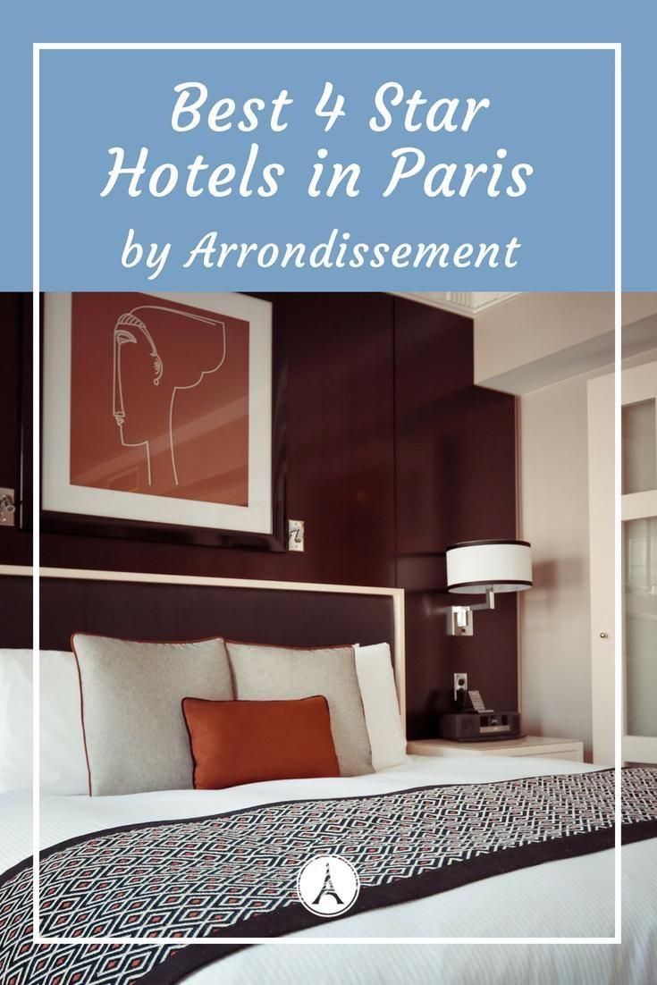 Favorite star hotels in paris u by arrondissement best places to