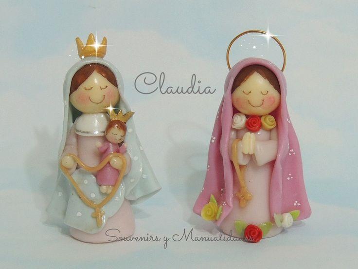 Virgencitas Porfis: Virgen de San Nicolás y Rosa Mística .-