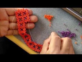 THE X BLOCK BRACELET Video 2 ~ Seed Bead Tutorials
