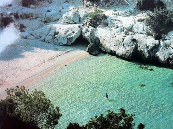 Menorca. Cala Macarelleta (Spain).