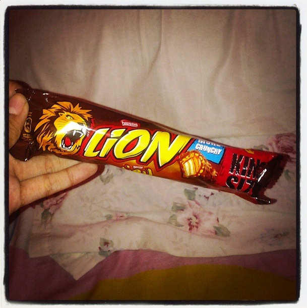 Lion bar chocolate <3