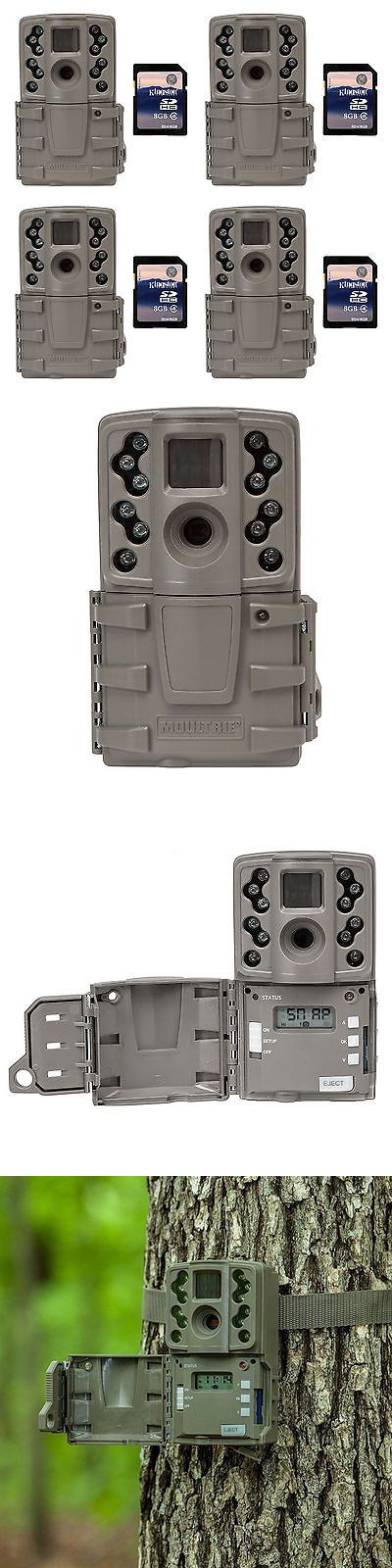 Game and Trail Cameras 52505: Moultrie A20 12Mp Infrared Mini Hunting Game Trail Camera, 4 Pack + 8Gb Sd Cards -> BUY IT NOW ONLY: $254.99 on eBay!