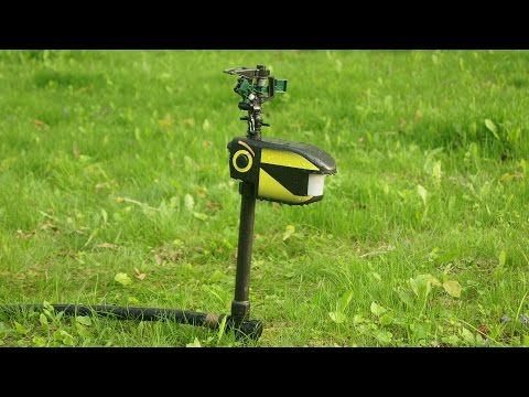 Visit: http://thehomehq.com/contech-scarecrow-sprinkler/ This video is a demo of…