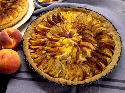 Finomságok Nikitől: Barackos pite