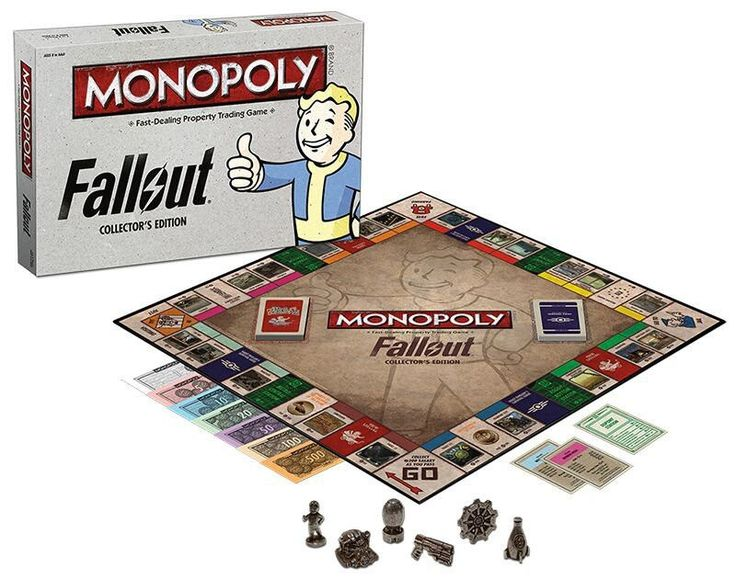 Monopoly: Fallout Collector's Edition Board Game