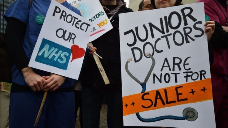 Junior doctors' contract set to be imposed, says Hunt