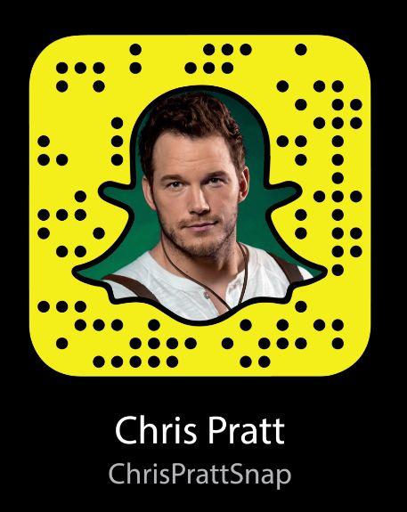 Chris Pratt Snapchat Username & Snapcode  #ChrisPratt #snapchat http://gazettereview.com/2017/01/chris-pratt-snapchat-username-snapcode/