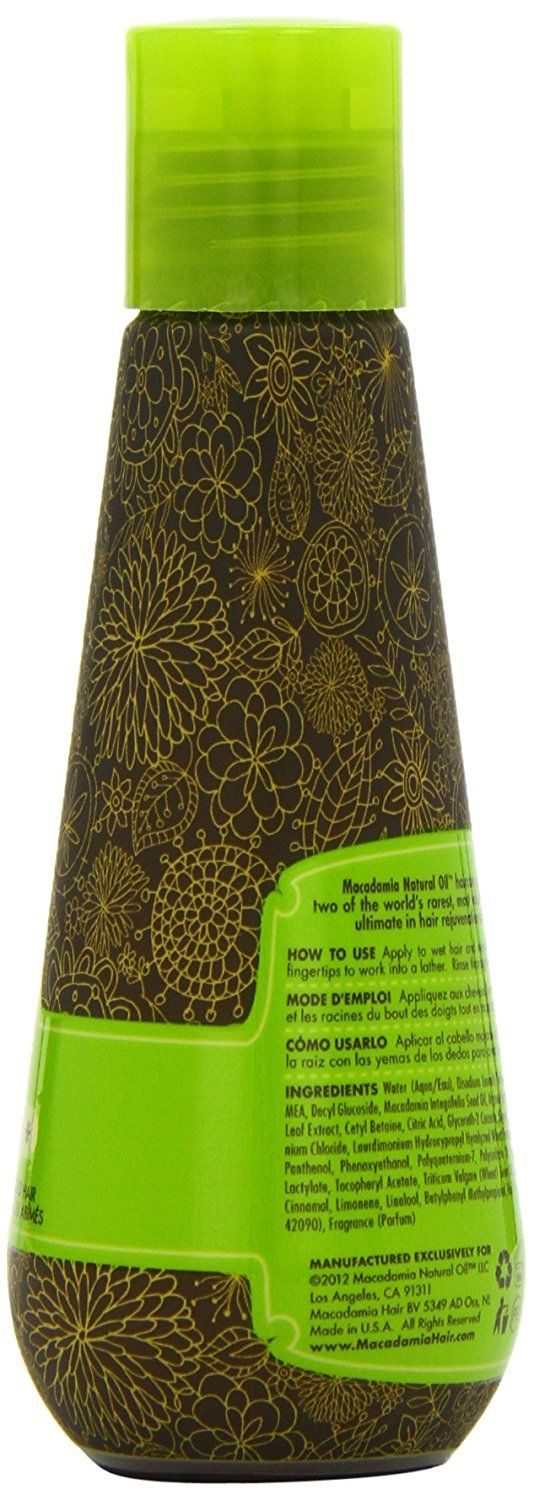 Macadamia Rejuvenating Shampoo, 3.3 Ounce * Check out the image by visiting the link. #hairmake