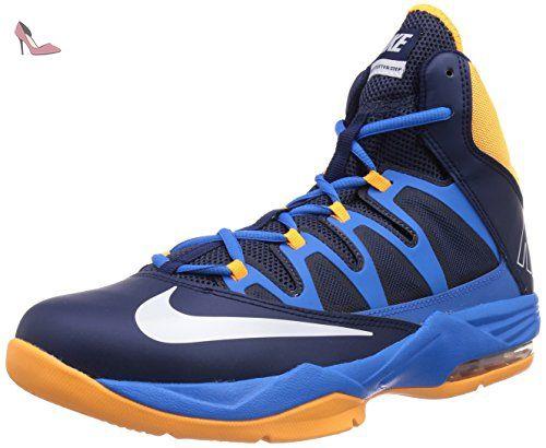 Nike  Nike Air Max Stutter Step Basketballschuhe, Chaussures de Basketball homme - noir - Schwarz (MID NAVY/WHITE-PHT BL-ATMC MNG), 44.5 EU - Chaussures nike (*Partner-Link)
