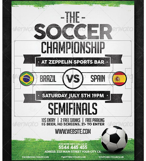9 best Pádel images on Pinterest Barcelona, Barcelona city and - soccer flyer template
