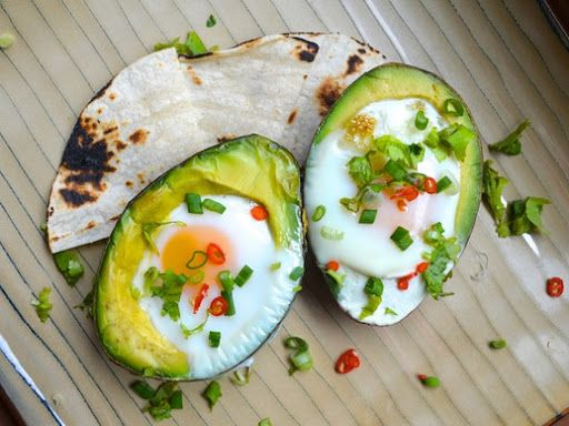 Eggs Baked in Avocado Recipe on Yummly