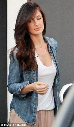 Chris who? Minka Kelly put her split with Chris Evans behind her and treated herself to some pampering at a hair salon in Beverly Hills on T...