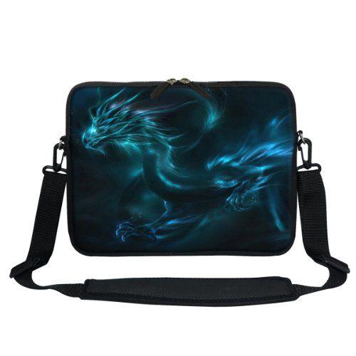 Meffort Inc® 11.6 Inch Neoprene Laptop / Ultrabook / Chromebook Bag Carrying Sleeve with Hidden Handle and Adjustable Shoulder Strap (Blue Dragon) Meffort Inc http://www.amazon.com/dp/B00J39K3YC/ref=cm_sw_r_pi_dp_cGkcub09DA8A6