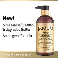 PURA DOR Anti Hair Loss Shampoo, Effective Solution for Hair Thinning