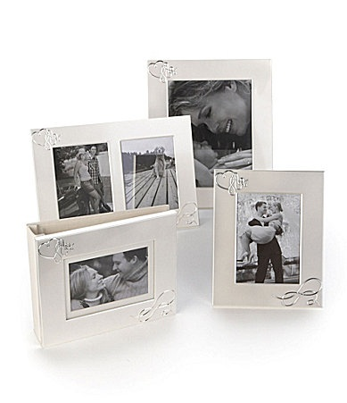 mikasa love story metal picture frame collection dillards
